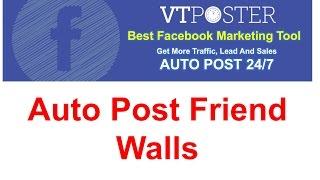 download lagu Auto Post Friend Walls On Facebook - Vt Poster gratis