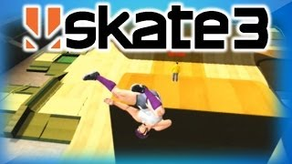 Skate 3 Funny Moments 3 - Chicken Dance, Kung Fu Fighting, Happy Hanukkah, and Going to Sleep!