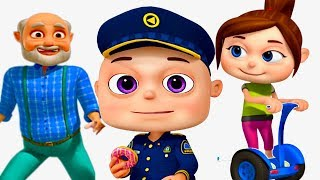 Zool Babies Police and Thief | Part 4 | Cartoon Animation For Children | Videogyan Kids Shows