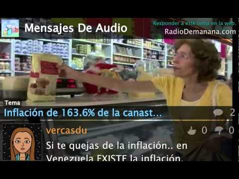 Bienvenidos a Venezuela: 163.6% de inflación en tan sólo un año