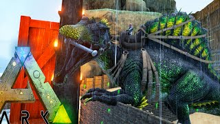 Ark Survival Evolved - FAILS,  BADASS SPINO TAMING - Modded Survival Ep51 (Ark Gameplay)