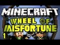 Minecraft: GONORRHEA MERMAID! Wheel of Misfortune Survival w/ SkyDoesMinecraft -Ep. 1-