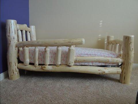 Детская кровать из дерева своими руками - AKtubes