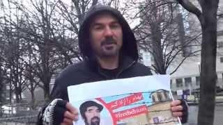 تورنتو - کانادا  حمایت از بهنام ابراهیم زاده - پیامها