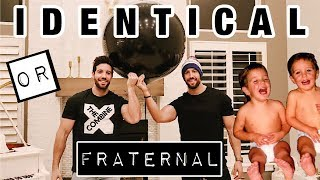 IDENTICAL or FRATERNAL? | DNA RESULTS | *emotional*