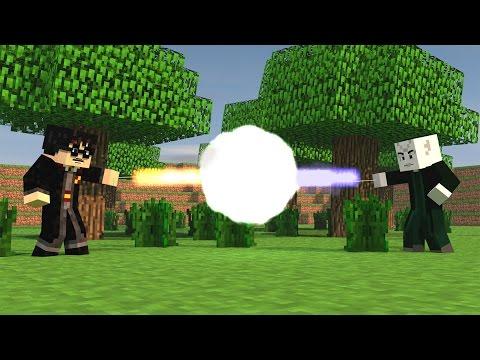 Minecraft Mods - MORPH HIDE AND SEEK - HARRY POTTER MOD