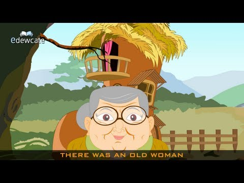 Edewcate english rhymes – There was an old woman who lived in a shoe