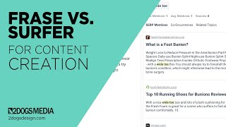 Download lagu Frase vs. Surfer For Content Creation