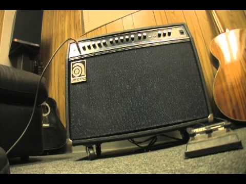 Ampeg SS 140C stereo chorus guitar amp FOR SALE