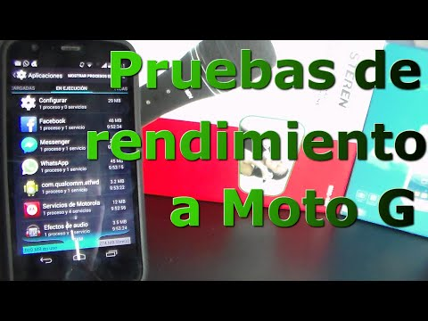 Moto G Pruebas de Rendimiento   Android Evolution