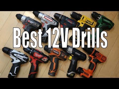 Best 12 Volt Cordless Drills - 2016 DeWalt. Makita. Bosch. Milwaukee. Ridgid. Hitachi