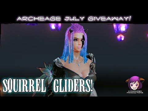 ★ ArcheAge ★ - July Squirrel Glider Giveaway! (Winners!)