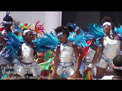 Labor Day 2014, Junior Carnival 2014 Parade in Brooklyn New York USA