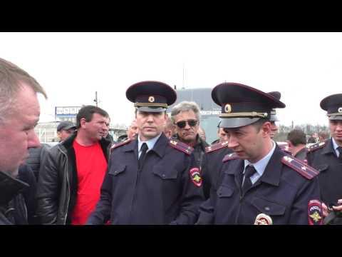 Стачка дальнобойщиков Юга России и Воронежа(краткий обзор) 2 часть