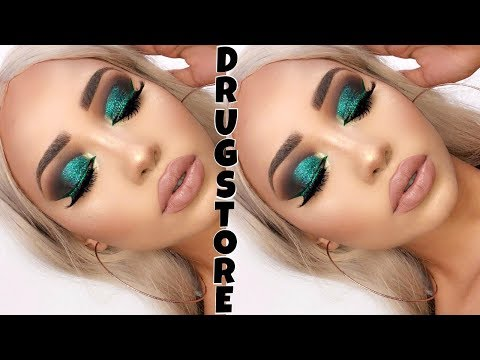 DRUGSTORE HOLIDAY GLAM MAKEUP TUTORIAL   Melly Sanchez