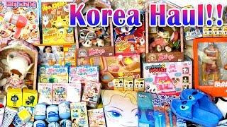 Korea Haul - Toys, Dolls, Cute Items, Anime Blind Boxes, Re-ments, Gachas and MORE!