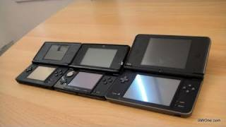 Nintendo 3DS vs DS Lite vs  DSi vs DSi XL - BWOne.com