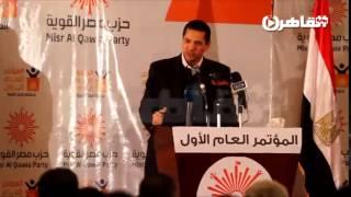 عبدالرحمن يوسف للشعب المصري: إياكم والوقوف بجانب الظلم