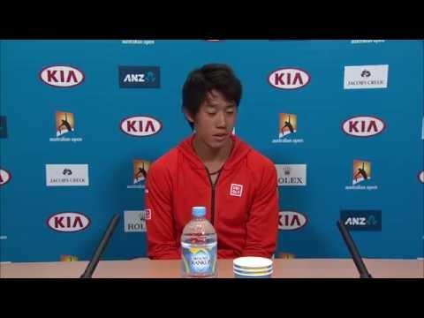 Kei Nishikori press conference (2R) - Australian Open 2015