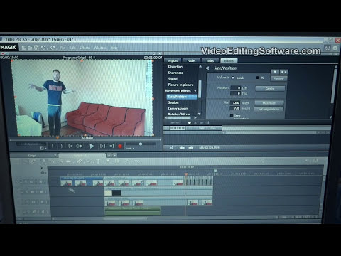 How To Clone Yourself (Ghost Effect) in Magix Movie Edit Pro Plus and Pro X