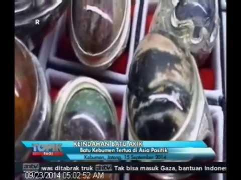 [ANTV] TOPIK  Batu Akik Kebumen Pamornya Kian Mengkilat