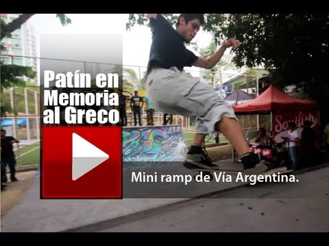 Skate Panama - Patin en Memoria al Greco | Skate Rojo