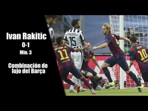 Juventus 1 - F.C.Barcelona 3. Final de Berlín (Goles Radio MD)