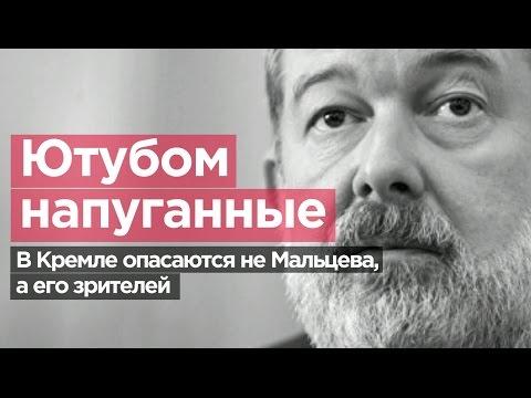 ЮТУБОМ НАПУГАННЫЕ. В Кремле опасаются не Мальцева, а его зрителей.