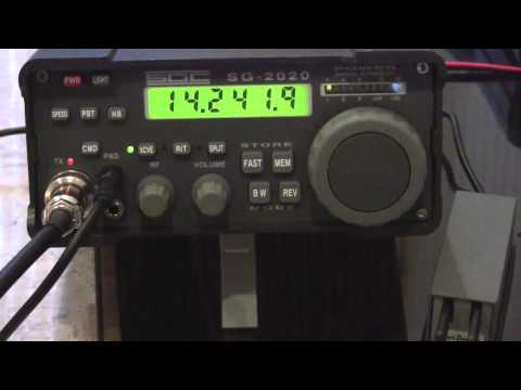 Ham Radio, 15 watts, from Ontario Canada to Serbia Indoor Magnetic Loop antenna QRP