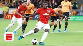Should Marcus Rashford have taken the ball off Paul Pogba on Manchester United's penalty?   ESPN FC