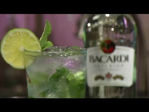 How to Make Bacardi Mojitos : Mojito Recipes