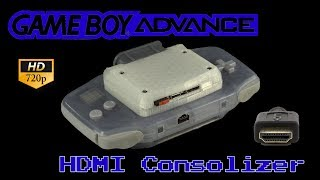HDMI Game Boy Advance: The GBA Consolizer