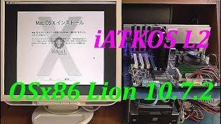 """I tried installing OS X Lion 10.7.2 with """"iATKOS L2"""""""