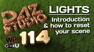 DAZ Studio 114: Introduction to Lighting