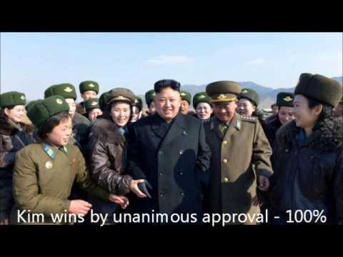 N KOREA, Kim Jong Un WINS ELECTION!