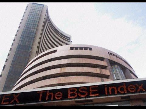 Sensex dips 100 points, Rupee depreciates 23 paise