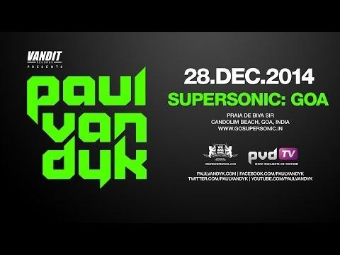Paul van Dyk @ Supersonic, Goa India - 28 Dec 2014 - Tour Trailer