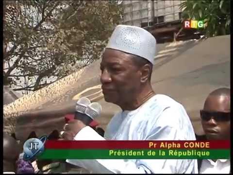 RTG Infos du 20 décembre 2014 Radioguineesud S.G Ban Ki Moon en Guinée