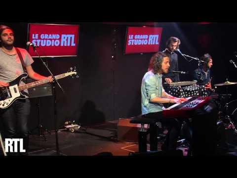 Julien Doré - Michel Platini en live dans le Grand Studio RTL