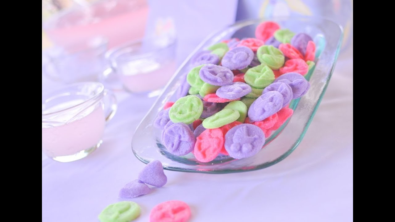 How to make wedding or baby shower mints youtube - Baby deko mint ...