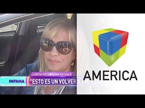 Susana Roccasalvo y su conmovedor regreso a la televisión