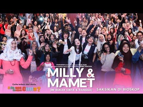 download lagu MILLY & MAMET (Ini Bukan Cinta & Rangga) - Nobar Di TangCity gratis