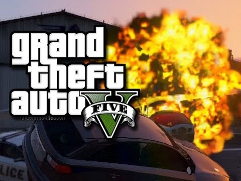 GTA 5 Online - Jahova Rage!  (GTA 5 Funny Moments!)
