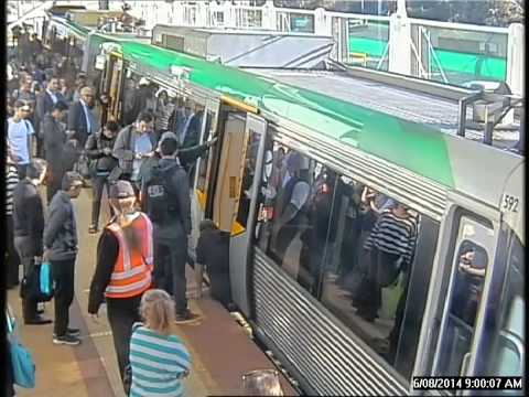 Transperth passengers rescue man at Stirling Station