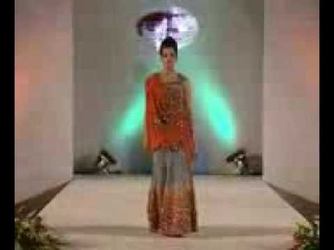 Indian fashion show