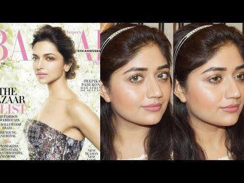 Deepika Padukone Harpers Bazaar Makeup Tutorial | corallista