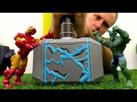 Железный Человек и Зелёный Гоблин! Кому достанется молот Тора?