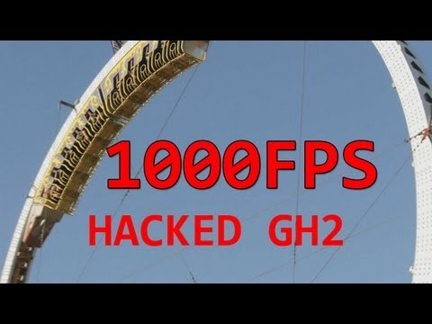 1000fps Super Slowmotion Hacked GH2 Anamorphic Carnival 2011