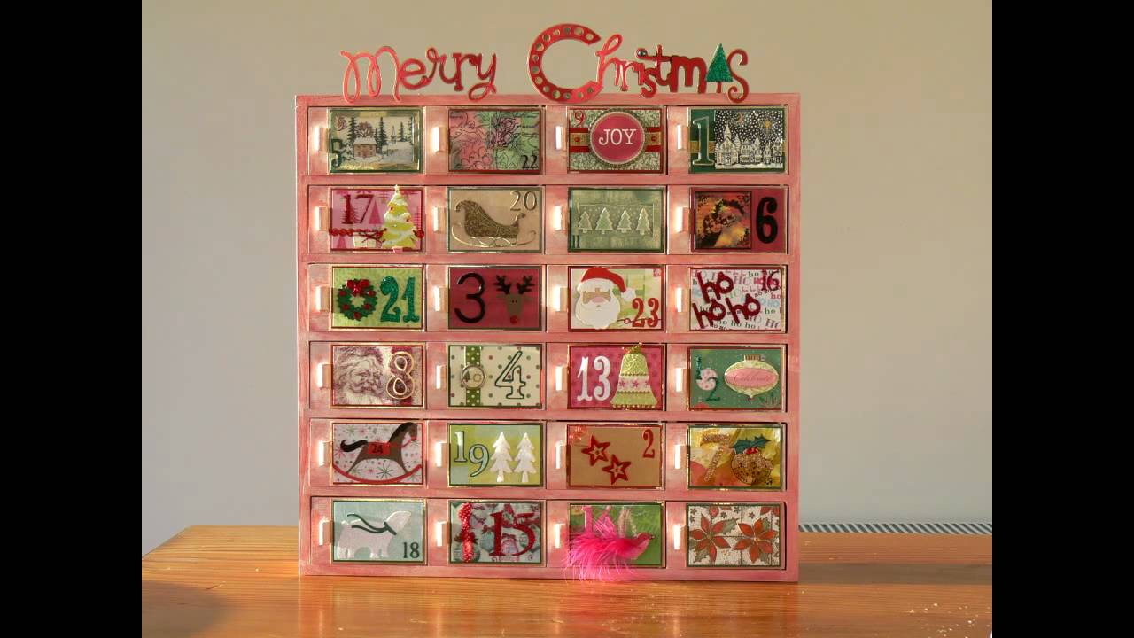 Wooden Advent Calendar Youtube