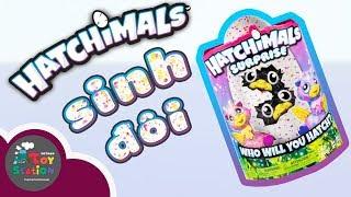 Ấp trứng Hatchimals Giraven Twins sinh đôi ToyStation 160